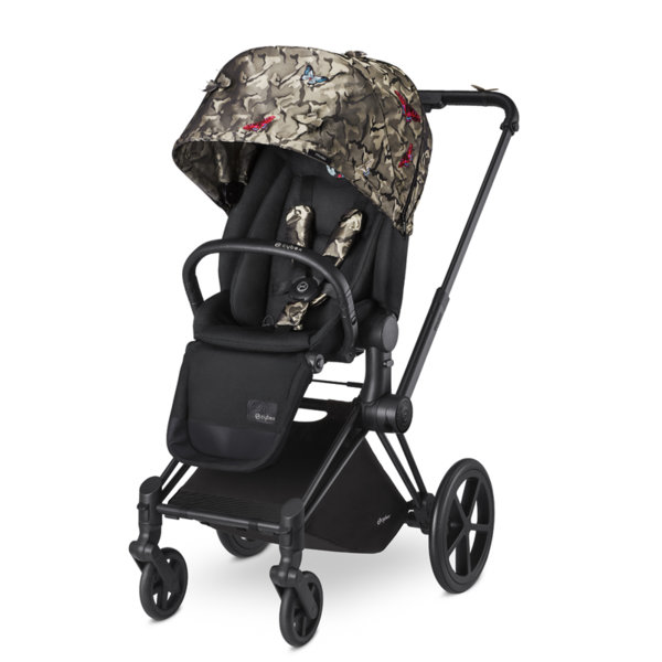 Cybex Бебешка количка Priam Lux Seat Butterfly Fashion Collection 2016